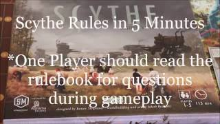Download Learn How to Play Scythe in 5 Minutes Video
