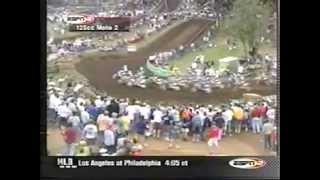 Download 2001 Washougal 125cc Moto 2 (The Travis Pastrana Nightmare Continues) Video