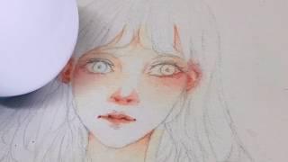Download [Speedpaint] Skin Watercolor Video