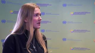 Download CIS Conference: interview with Alyona Nevidoma Video