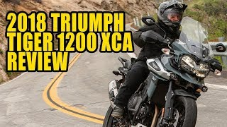 Download 2018 Triumph Tiger 1200 XCa Review Video
