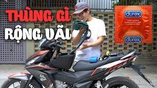 Download Gắn THÙNG GIỮA cho Winner 150 và Exciter 150 - Thùng GIVI G10N | MinC Motovlog Video