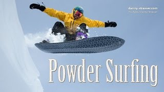 Download snowboarding without bindings - Powder Surfing Video