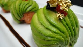 Download Amazing Edible Art - Spicy Tuna Bon Bon - How To Make Sushi Series Video