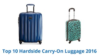 Download 10 Best Hardside Carry-On Luggage 2016 Video