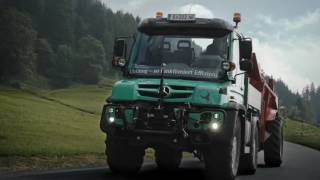 Download Mercedes-Benz Unimog U430 im Agrareinsatz in Österreich Video