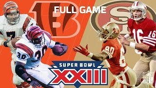 Download Super Bowl XXIII: ″Montana & Rice's Legendary Performance″ | Bengals vs. 49ers | NFL Full Game Video