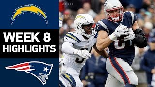 Download Chargers vs. Patriots | NFL Week 8 Game Highlights Video
