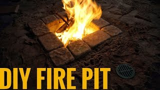 Download DIY Fire Pit with Adjustable Draft (for under $50!) Video