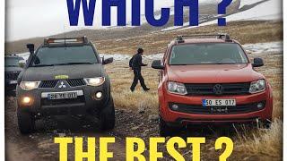 Download VW AMAROK vs Mitsubishi L200 OFF ROAD @TURKEY Video
