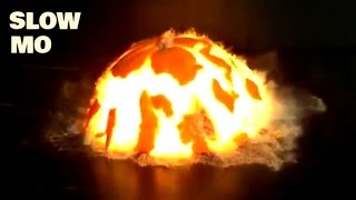 Download Top 30 Explosions In Slow Motion - Real Life Exploding Compilation - Slow Mo Lab Video