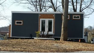Download Contemporary Meets Industrial In This Lovely Tiny House Build Video