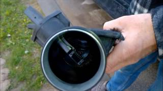 Download How To Clean a Mass Air Flow Sensor (MAF) and Change Air Filter Video