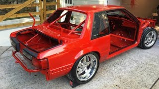 Download 1989 Ford Mustang LX 5.0 Jon Kaase 2000 HP Twin Turbo Build Project Video