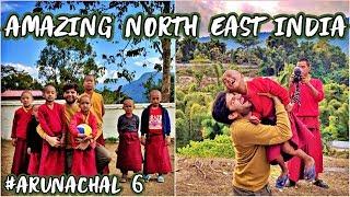 Download PLAYING FOOTBALL WITH MONKS IN MONASTARY, TUTING - Arunachal Pradesh Video