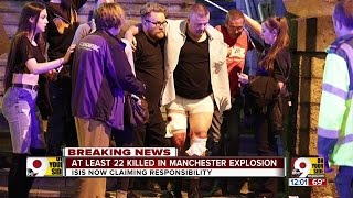 Download At least 22 killed in Manchester explosion Video