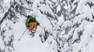 Download Zack Giffin Tears Up Mt. Baker Ski Area - The Good Life Pacific Northwest Video
