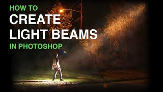 Download Create Beams Of Light From Nothing In Photoshop Video