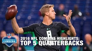 Download Top 5 QBs Prospects | 2016 NFL Combine Video