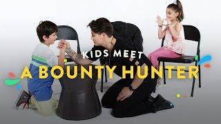 Download Kids Meet a Bounty Hunter | Kids Meet | HiHo Kids Video