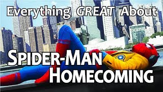 Download Everything GREAT About Spider-Man: Homecoming! Video