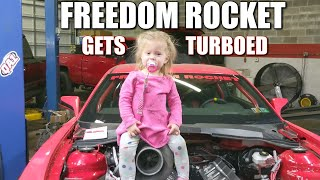 Download Fabricating A Turbo Kit For The Freedom Rocket With My 2 Year Old! Video