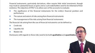 Download CIMA F3 Financial instruments - Disclosure (IFRS 7) Video
