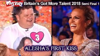 Download Alesha Dixon Reunited with Her First Kiss Britain's Got Talent 2018 Semi Final Grp 1 BGT S12E08 Video