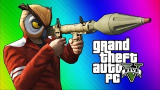 Download GTA 5 PC Online Funny Moments - Action Replay, Slow Motion, Highway Stunt! Video