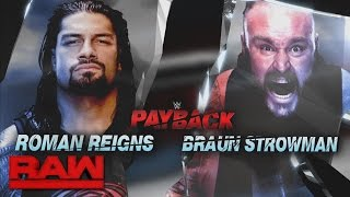 Download A look back at the destructive rivalry between Roman Reigns and Braun Strowman: Raw, April 24, 2017 Video