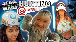 Download EPIC FAMILY FUN! Star Wars Hunting @ Target w/ Mike-Bacca & BB Chase (The Force Awakens Vlog) Video
