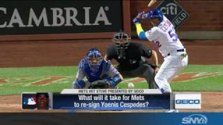 Download What will it take for the Mets to re-sign Yoenis Cespedes? Video