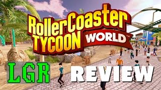 Download LGR - RollerCoaster Tycoon World Is Sad [A Review] Video