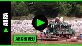 Download [Abra] ► Extreme river crossing from Manabo to Luba town via Tumbal River Video