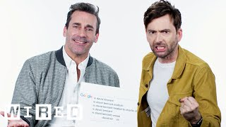 Download Jon Hamm & David Tennant Answer the Web's Most Searched Questions | WIRED Video