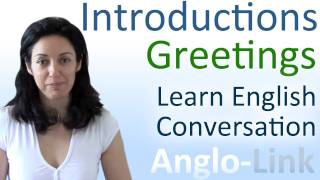 Download Introductions & Greetings - Learn English Conversation Video