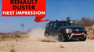 Download 2016 Renault Duster Easy R + AWD : First Drive : PowerDrift Video