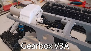 Download 3D printed RC truck V3: New gearbox Video