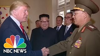 Download President Donald Trump Salutes North Korean General In State Media Footage | NBC News Video