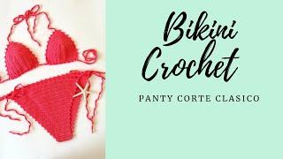 Download CALZON DE BIKINI Corte Clasico Tejido a Crochet (2da parte ) #bikinibottom Video