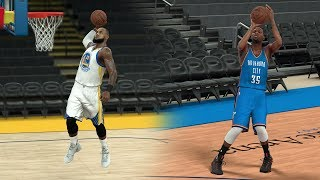 Download What If Lebron James Went To The Warriors Instead Of Kevin Durant? NBA 2K17 Gameplay! Video