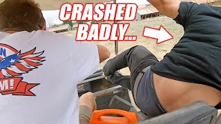 Download Cleetus Shows Off His Golf Cart Boggin Skills... Ended SO BADLY! (Boostedboiz Shop Visit) Video