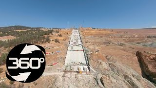 Download Oroville Spillway 360 Flyover August 30, 2018 Video
