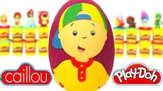 Download Huevo Sorpresa Gigante de Caillou en Español de Plastilina Play Doh Video