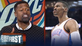 Download Stephen Jackson praises Westbrook's killer instinct in Thunder's win over Hawks | FIRST THINGS FIRST Video