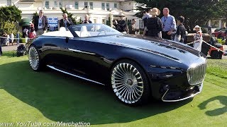 Download The Vision Mercedes-Maybach 6 Convertible is PERFECTION on Wheels! Video