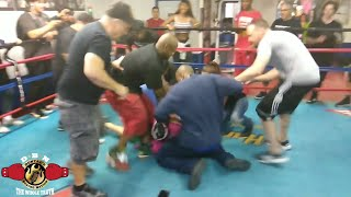 Download (YOU WON'T BELIEVE THIS!) ALL HELL BREAKS LOSE! ″SPAR WARS″ CHRISTIAN THOMAS VS ALEX ″ATG″ Video