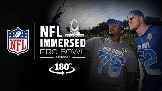 Download VR180º All-Access at Pro Bowl Practice | Mike Daniels & LeSean McCoy Ep. 1 | NFL Immersed Video