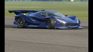 Download Apollo Intensa Emozione at Top Gear Testing Video