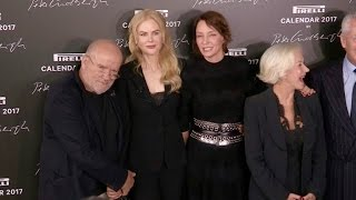 Download Peter Lindbergh, Nicole Kidman, Uma Thurman and Helen Mirren at Pirelli Photocall Video